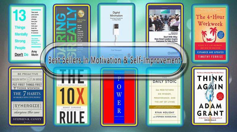Best Sellers in Motivation & Self-Improvement