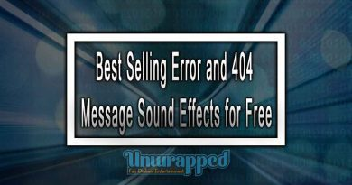 Best Selling Error and 404 Message Sound Effects for Free