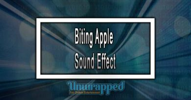 Biting Apple Sound Effect