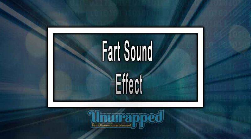 Fart Sound Effect
