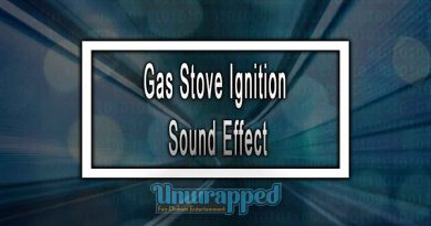 Gas Stove Ignition Sound Effect