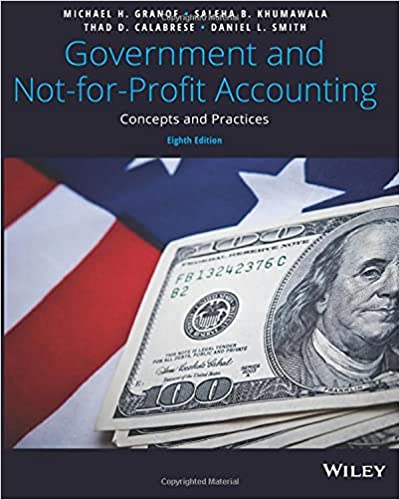 Government and Not-for-Profit Accounting