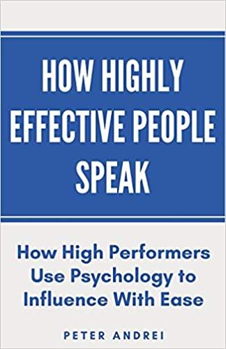 How Highly Effective People Speak