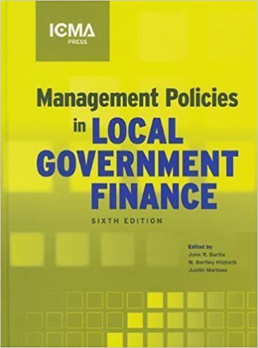 Management Policies in Local Government Financ