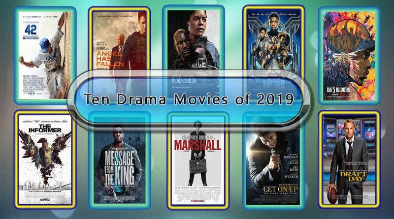 Ten Drama Movies Like 21 Bridges (2019)