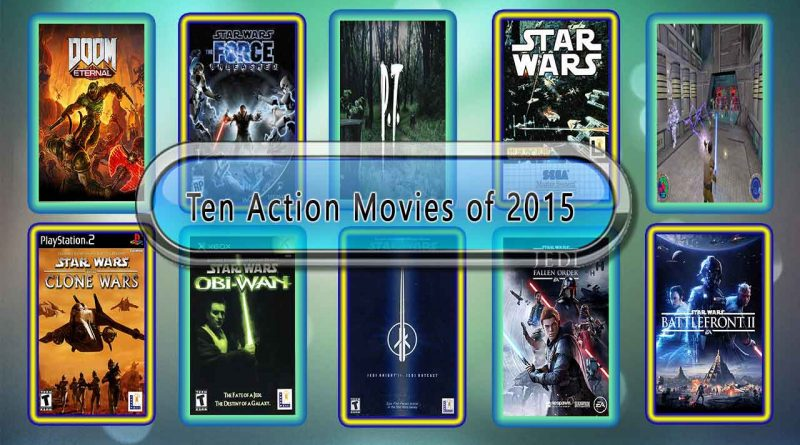 Ten Action Movies Like Star Wars 1313 (2015)