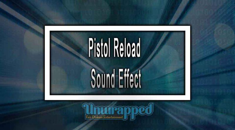 Pistol Reload Sound Effect