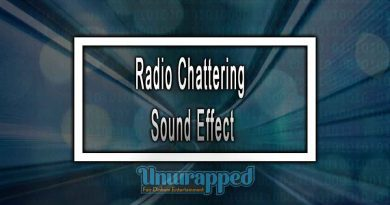 Radio Chattering Sound Effect