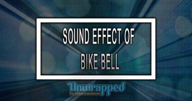 SOUND EFFECT OF BIKE BELL