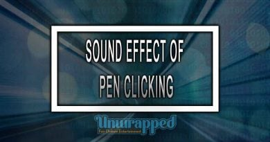 SOUND EFFECT OF PEN CLICKING