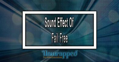 Sound Effect Of Fail Free