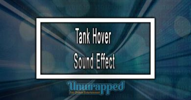 Tank Hover Sound Effect