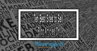 Ten Best Sites to Sell Blog Articles On