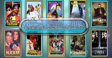 Ten Drama Movies Like Aatish: Feel the Fire 1994