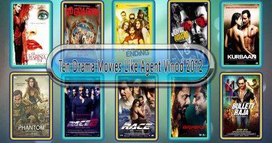 Ten Drama Movies Like Agent Vinod (2012)