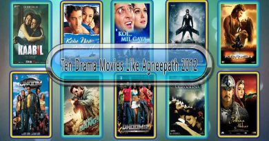 Ten Drama Movies Like Agneepath (2012)