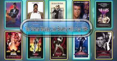 Ten Drama Movies Like Beverly Hills Cop (1984)