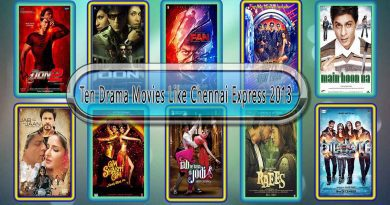 Ten Drama Movies Like Chennai Express (2013)