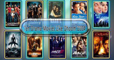 Ten Drama Movies Like Dhoom 2004