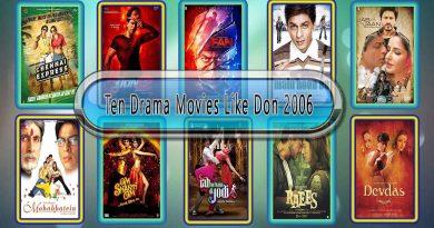 Ten Drama Movies Like Don (2006)