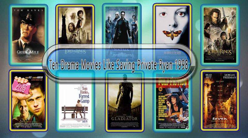 Ten Drama Movies Like Saving Private Ryan (1998)