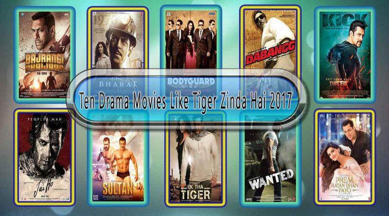 Ten Drama Movies Like Tiger Zinda Hai 2017