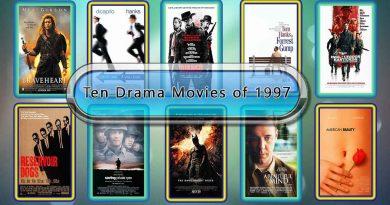 Ten Drama Movies of 1997