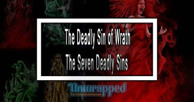 The Deadly Sin of Wrath