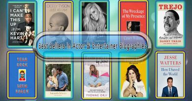 Top 10 Must Read Actor & Entertainer Best Selling Books