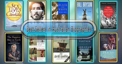 Top 10 Must Read Australian Best Selling Books