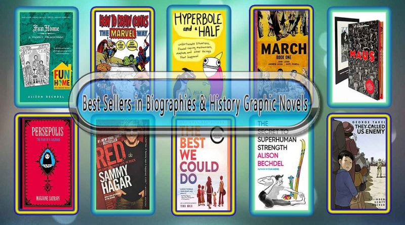 Top 10 Must Read Biographies & History Graphic Novels Best Selling Books
