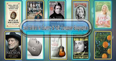 Top 10 Must Read Country & Folk Composer Best Selling Books