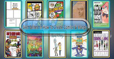 Top 10 Must Read Create Comics & Manga Best Selling Books