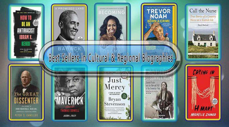 Top 10 Must Read Cultural & Regional Best Selling Books