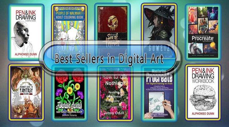 Top 10 Must Read Digital Art Best Selling Books