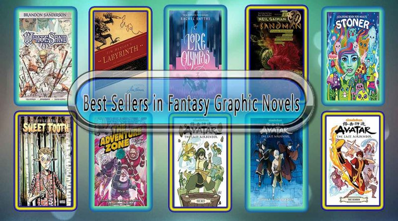 Top 10 Must Read Fantasy Graphic Novels Best Selling Books