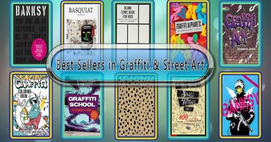 Top 10 Must Read Graffiti & Street Art Best Selling Books