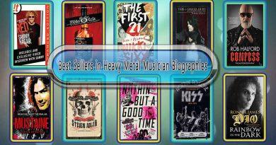 Top 10 Must Read Heavy Metal Musician Best Selling Books