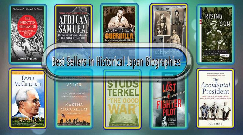 Top 10 Must Read Historical Japan Best Selling Books