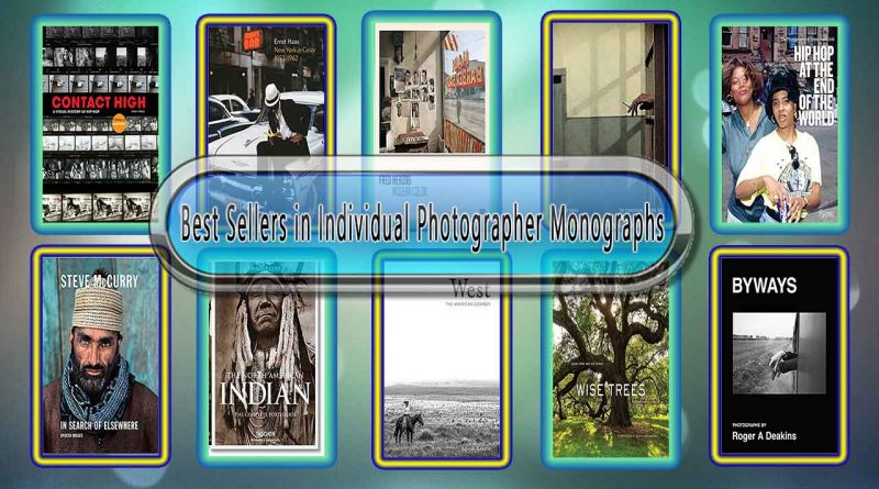 Top 10 Must Read Individual Photographer Monographs Best Selling Books