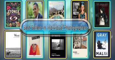 Top 10 Must Read Individual Photographers Best Selling Books