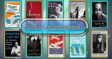 Top 10 Must Read Jazz Musician Best Selling Books