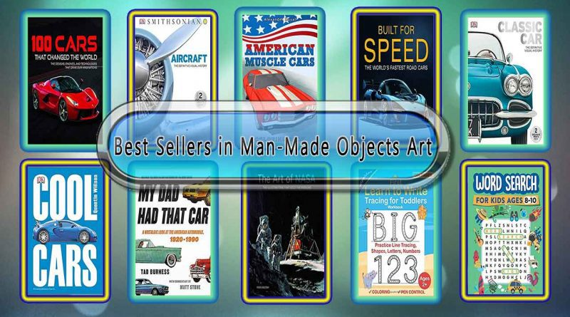 Top 10 Must Read Man-Made Objects Art Best Selling Books
