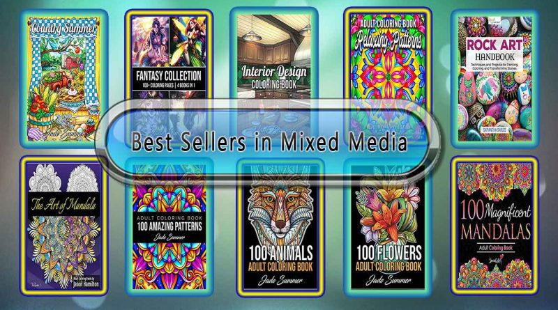 Top 10 Must Read Mixed Media Best Selling Books