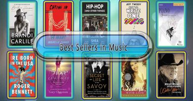Top 10 Must Read Music Best Selling Books