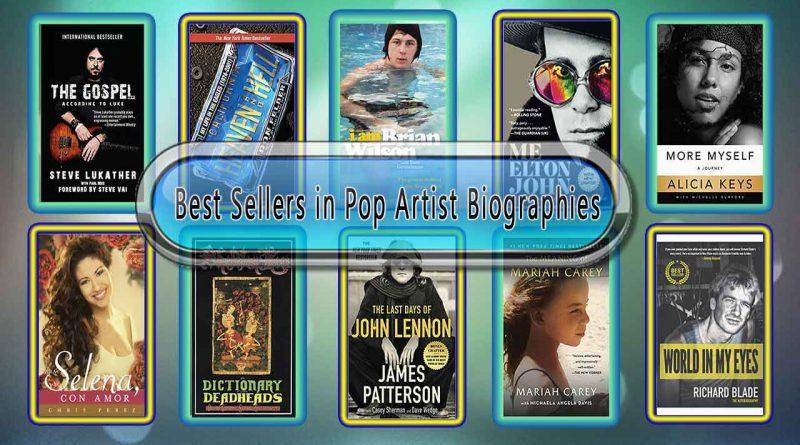 Top 10 Must Read Pop Artist Best Selling Books