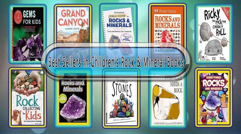 Top 10 Must Read Rock & Mineral Best Selling Kids Novels