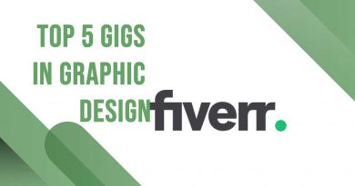 Top 5 Gigs on Fiverr in Graphic Design for Your Project
