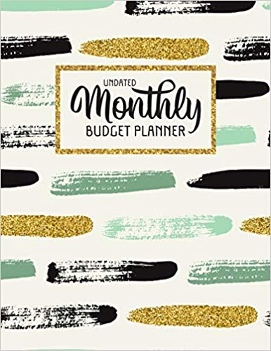 Undated Monthly Budget Planner