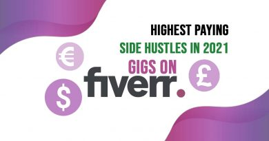 Highest Paying Gigs on Fiverr for Side Hustles in 2021